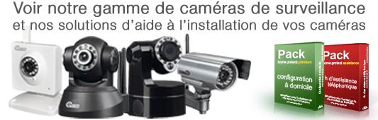 caméras IP de surveillance WiFi