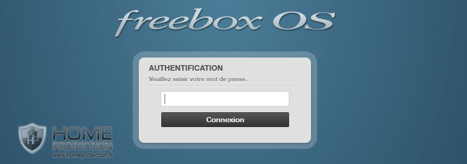 Connexion à l'interface d'administration de la Freebox