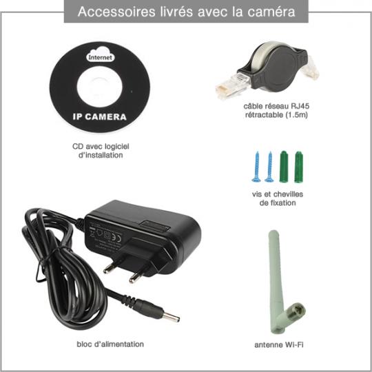 Accessoires fournis