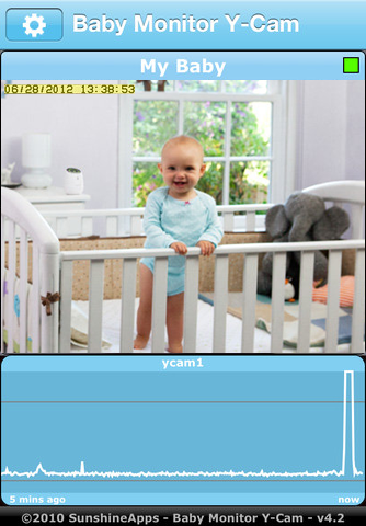 Application Babymonitor HD pour iPhone