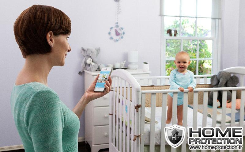 Utilisez votre caméra IP en babyphone Internet