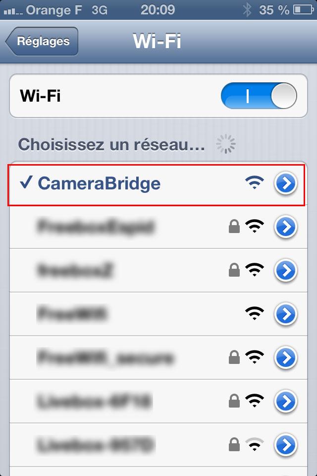 Réseau Wi-Fi
